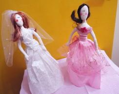 Bonecas de Pano Estilo barbie