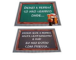"""Placas Engra�adas """" Festa de Boteco"""""""