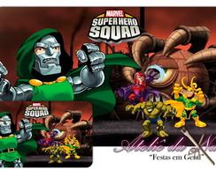 Jogo Americano - Super Hero Squad