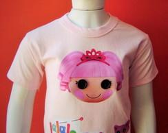Camiseta Infantil Lalaloopsy Jewel