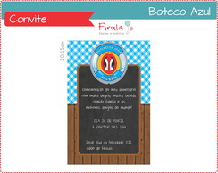 Convite Digital Boteco Azul