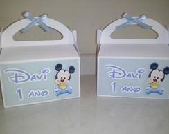 Caixa Baby Mickey