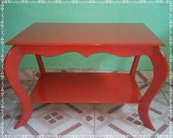 Mini mesa Vermelha