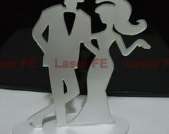 Silhueta casal Modelo 06