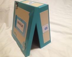 Livro de Mensagem c/ caixa personalizada