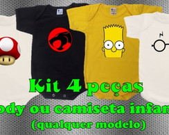 Kit body estampado 4 pe�as