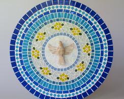 Mandala Divino Esp�rito Santo Azul