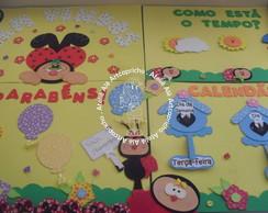 "Kit sala de aula ""Joaninhas"""