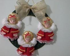 Guirlanda de Anjos - Natal