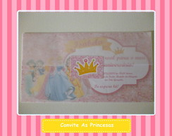 Convites as Princesas