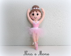 Bailarina em Feltro