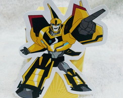 Caixa Personagem - Transformers