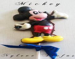 Pirulito De Chocolate Mickey