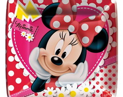Prato Anivers�rio Red Minnie Quad.