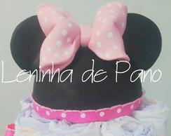 topo de bolo Minie