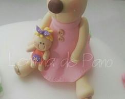 Topo de bolo de Ursa