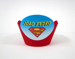 Wrapper de Cupcake Superman