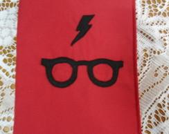 Capa de livro Harry Potter vermelha