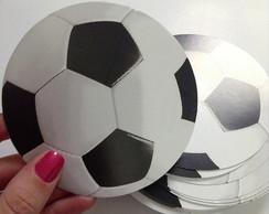 Convite Futebol Bola 3D