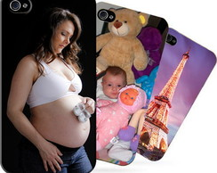 Capa Case 3D Personalizada IPhone Galaxy