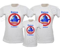 Kit Camisetas Galinha Pintadinha