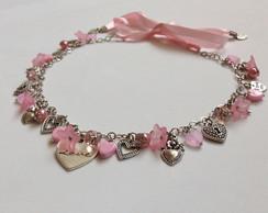Conjunto Sweet Heart Rock Cherry