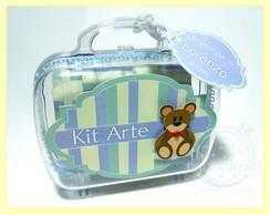 Maleta Acr�lica Kit Arte (3 pe�as)