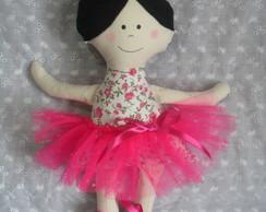 Boneca Clarinha Bailarina
