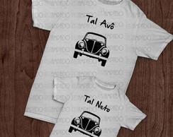 Kit de camisetas - Tal Av�, Tal Neto