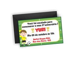 Convite Futebol P