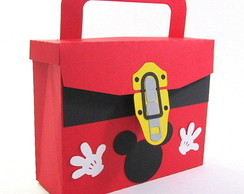 Maletinha Mickey com KIT PINTURA