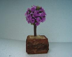 �rvore de mini rosa