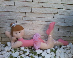 boneca em feltro