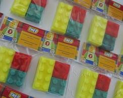 Sabonete Lego Lembrancinha