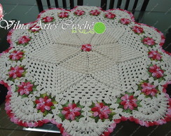 Centro de mesa e/ou tapete pipoquinha