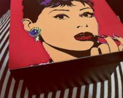 Caixa Pop Art Bonequinha de Luxo