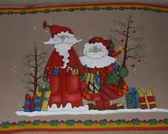 Tapetes emborrachados para o Natal