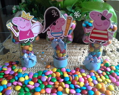 tubetes Lembrancinhas Peppa Pig 2