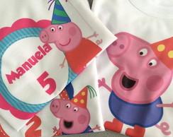 Camiseta Peppa Pig - Varios Modelos