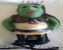 Pirulito De Chocolate Shrek
