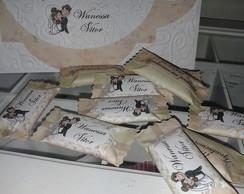 Balas personalizadas para casamento
