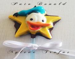 Pirulito De Chocolate Pato Donald