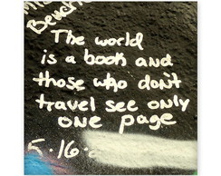 �m� The World is a Book