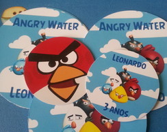 24 Adesivos Mint to Be Angry Birds
