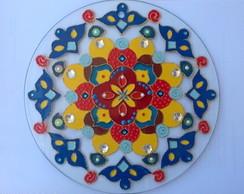 Mandala em Vidro