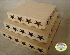 Conjunto de Bandeja Estrela