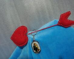 Flecha do Cupido c/chaveiro de S. Ant�ni