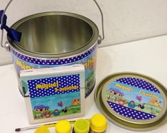 Kit Pintura na lata Galinha pintadinha