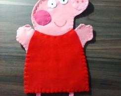 Peppa pig fantoche infantil