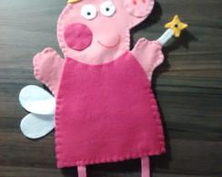 Peppa pig fada fantoche infantil